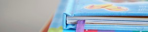 Stack of picture books