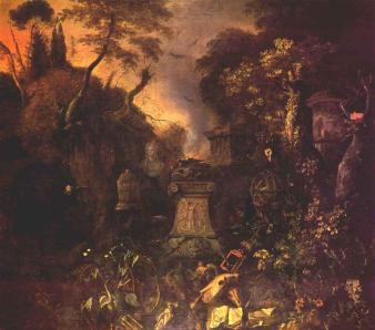 Withoos,_Matthias_-_Landscape_with_a_Graveyard_by_Night